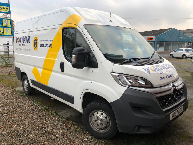 Citroen Relay for sale from Portman Van Hire
