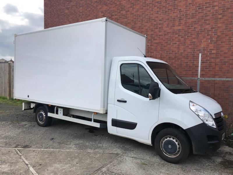 Vauxhall Movano for sale from Portman Van Hire